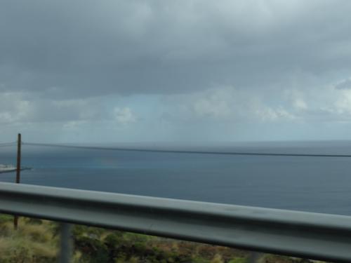 arcoíris en el mar