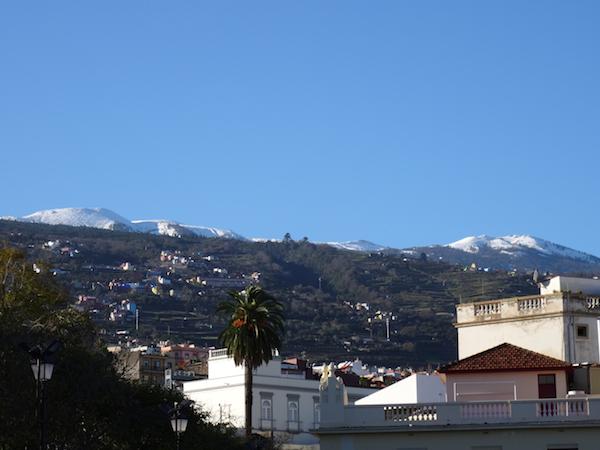 cumbres Tenerife nevadas